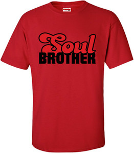 SuperBad Soulware Men's T-Shirt - Soul Brother - Red - BR