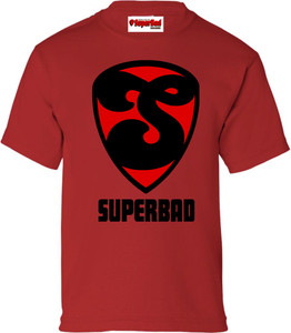 SuperBad Soulware Boys T-Shirt - S2 - Red - BR