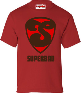 SuperBad Soulware Boys T-Shirt - S2 - Red - BRR