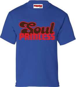 SuperBad Soulware Girls T-Shirt - Soul Princess - Royal Blue - RBR