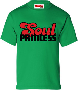 SuperBad Soulware Girls T-Shirt - Soul Princess - Irish Green - BR