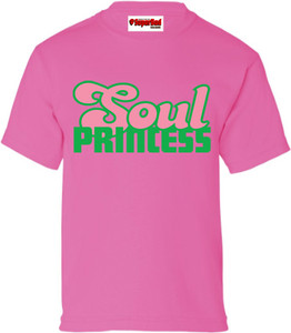 SuperBad Soulware Girls T-Shirt - Soul Princess - Pink - GP