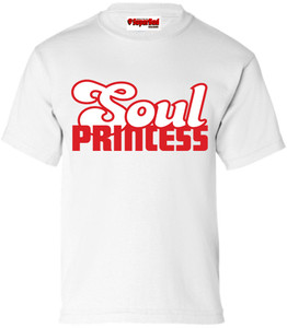 SuperBad Soulware Girls T-Shirt - Soul Princess - White - RW