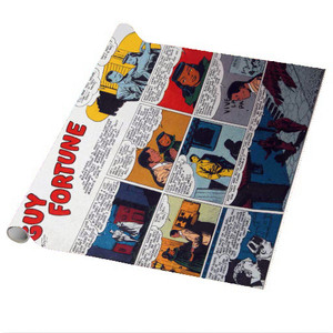 Vintage Black Heroes Wrapping Paper Sheets - Guy Fortune - CST4 - Package Of 5