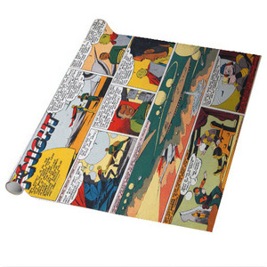 Vintage Black Heroes Wrapping Paper Sheets - Neil Knight - CST6 - Package Of 5
