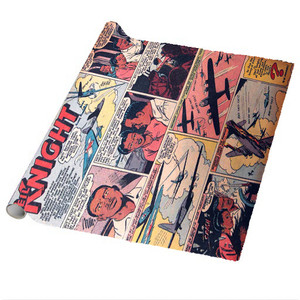 Vintage Black Heroes Wrapping Paper Sheets - Neil Knight - CST1 - Package Of 5