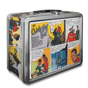 Vintage Black Heroes Lunchbox - The Chisholm Kid - CST2