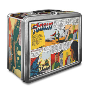 Vintage Black Heroes Lunchbox - Neil Knight - CST6