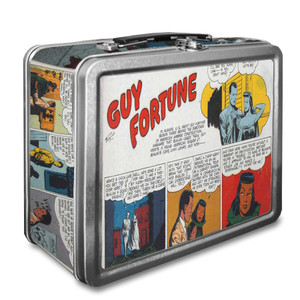 Vintage Black Heroes Lunchbox - Guy Fortune - CST4
