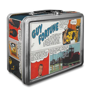 Vintage Black Heroes Lunchbox - Guy Fortune - CST10