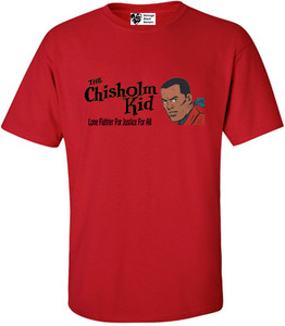 Vintage Black Heroes Men's T-Shirt - The Chisholm Kid - 4 - Red