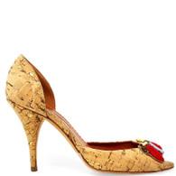 Oscar de la Renta Cork Heels