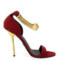 Versace Chain Strap Heel