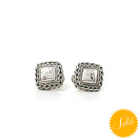 John Hardy Chain Stud Earrings