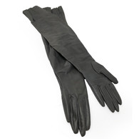 Long Leather Gloves