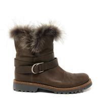 Brunello Cucinelli Fur Boots