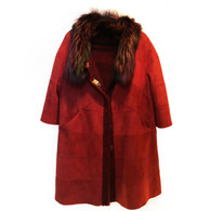 Dennis Basso Shearling Coat