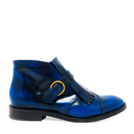 Marc Jacobs Blue Fringed Booties