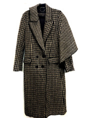 Burberry Draped Coat