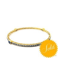 Gemstone Bangle 1