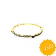Gemstone Bangle 2