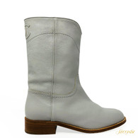 Chanel Dove Boots