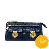 Marc Jacobs Blue Wallet