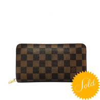 Louis Vuitton Damier Zip Wallet