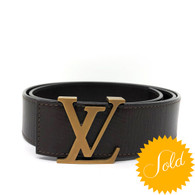 Louis Vuitton Intiales Belt