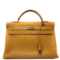 Hermès Moutard Kelly Purse