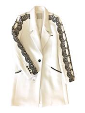 Jason Wu Lace-Edged Coat