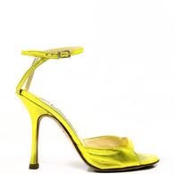 Jimmy Choo Chartreuse Heels