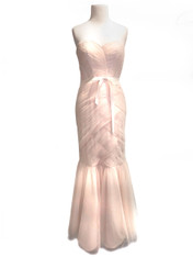 Monique Lhuillier Pink Gown