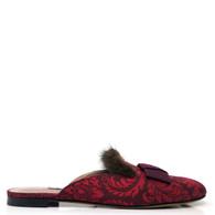 Tabitha Simmons Fur Slides