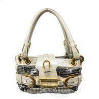 Jimmy Choo Silver Purse