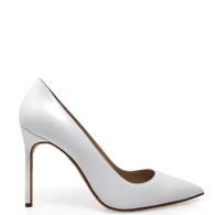 Manolo Blahnik White Heels