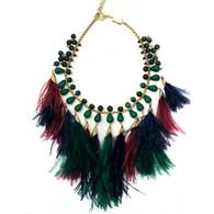 Rosantica Feather Necklace