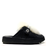 Coach Shearling Slides