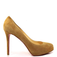 Louboutin Suede Miss Clichy Heel