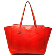 Gucci Red Swing Tote