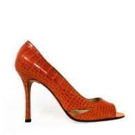 Manolo Blahnik Crocodile Heel