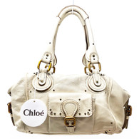 "Chloé Cream ""Paddington"" Purse"