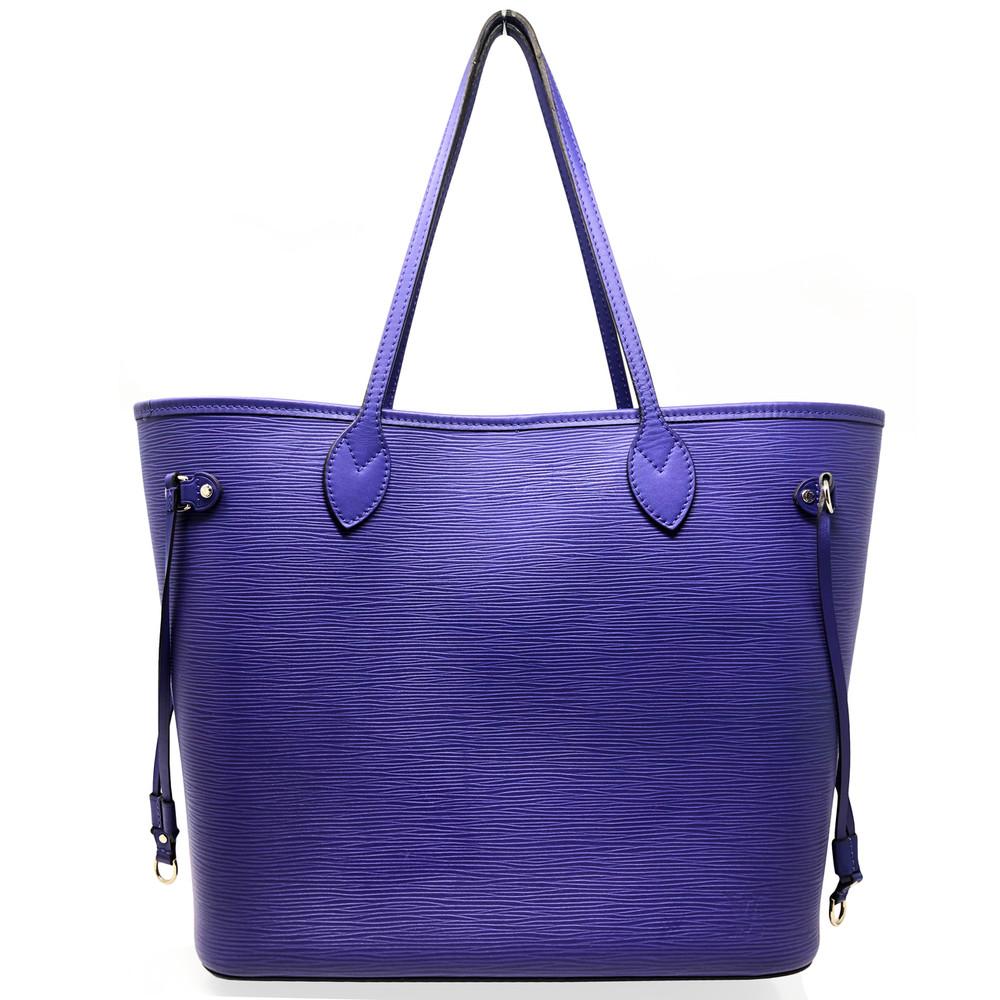 e2777bba5 Home · Handbags and Purses; Louis Vuitton Purple Neverfull MM. Image 1