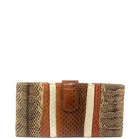 Carlos Falchi Snakeskin Wallet