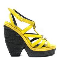 Balenciaga Yellow Heels