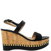 Ferragamo Cork Wedges