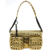 Just Cavalli Gold Purse