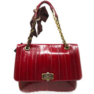 Lanvin Red Happy Purse