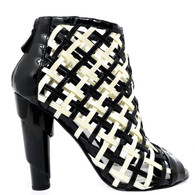 Chanel Cage Booties