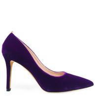 Sarah Jessica Parker Velvet Heels